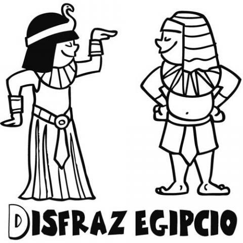 Dibujos para colorear del antiguo egipto - Imagui