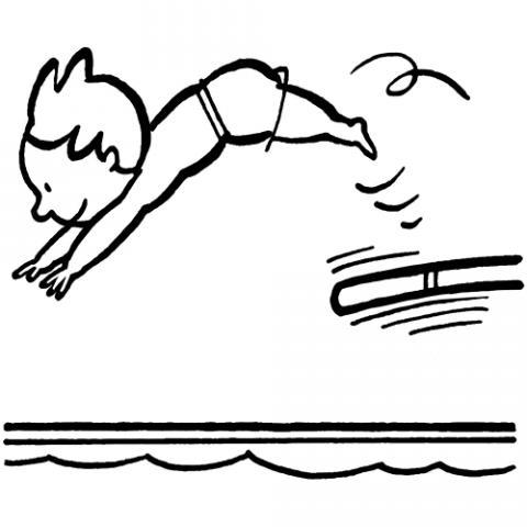 Dibujos para imprimir de natación - Imagui