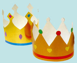 Kings´ crowns paso 5