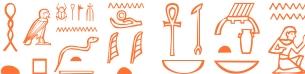 Jeroglífico del nombre Áfrico