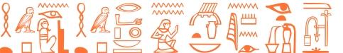 Jeroglífico del nombre Agatocles