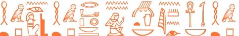 Jeroglífico del nombre Agatoclia