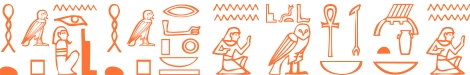 Jeroglífico del nombre Agatónico