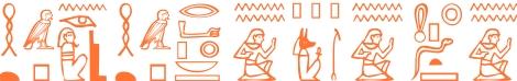 Jeroglífico del nombre Agatópodo