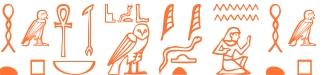 Jeroglífico del nombre Ainhoa
