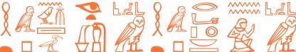 Jeroglífico del nombre Akenatón