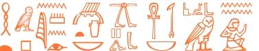 Jeroglífico del nombre Alcuino