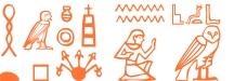 Jeroglífico del nombre Amon