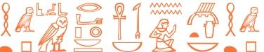 Jeroglífico del nombre Antioca