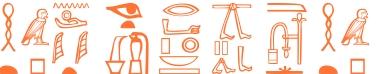 Jeroglífico del nombre Aretusa
