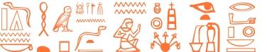 Jeroglífico del nombre Bafomet