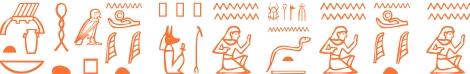 Jeroglífico del nombre Carpóforo