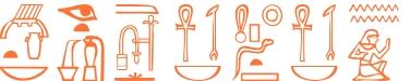 Jeroglífico del nombre Cesidio