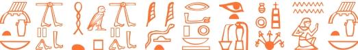 Jeroglífico del nombre Cuauhtémoc