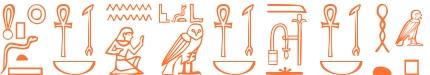 Jeroglífico del nombre Dionisia