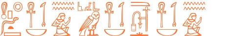 Jeroglífico del nombre Dionisio