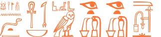 Jeroglífico del nombre Finees