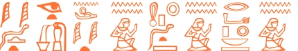 Jeroglífico del nombre Herodoto
