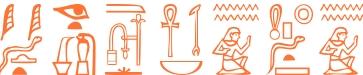Jeroglífico del nombre Hesíodo