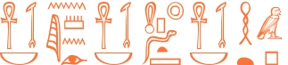 Jeroglífico del nombre Ilidia