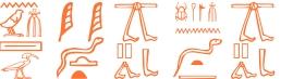 Jeroglífico del nombre Khufu