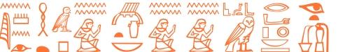 Jeroglífico del nombre Laocoonte