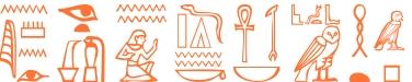 Jeroglífico del nombre Leobina