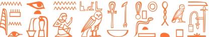 Jeroglífico del nombre Leónidas