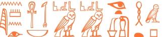 Jeroglífico del nombre Linnea