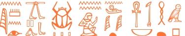 Jeroglífico del nombre Luxoria