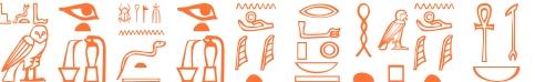 Jeroglífico del nombre Nefertari
