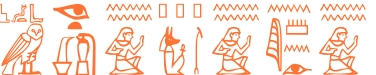 Jeroglífico del nombre Neopolo