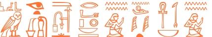 Jeroglífico del nombre Nestorio