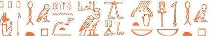 Jeroglífico del nombre Pafnucia