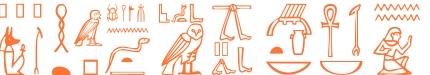 Jeroglífico del nombre Pafnucio