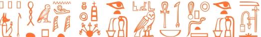 Jeroglífico del nombre Parménides