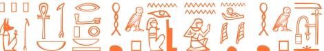 Jeroglífico del nombre Pitágoras