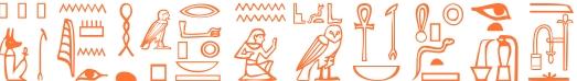 Jeroglífico del nombre Platónides