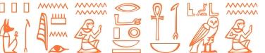 Jeroglífico del nombre Plotino