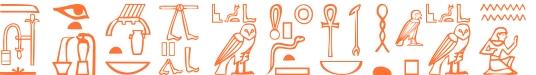 Jeroglífico del nombre Secundiano