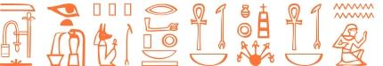 Jeroglífico del nombre Septimio