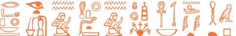 Jeroglífico del nombre Teodomira