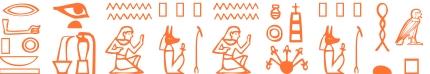 Jeroglífico del nombre Teopompa
