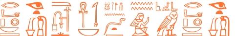 Jeroglífico del nombre Tesifonte