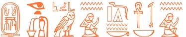 Jeroglífico del nombre Zenobio