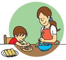 Crepes De Jamón Y Verduras Receta Infantil Para Un Almuerzo Ligero