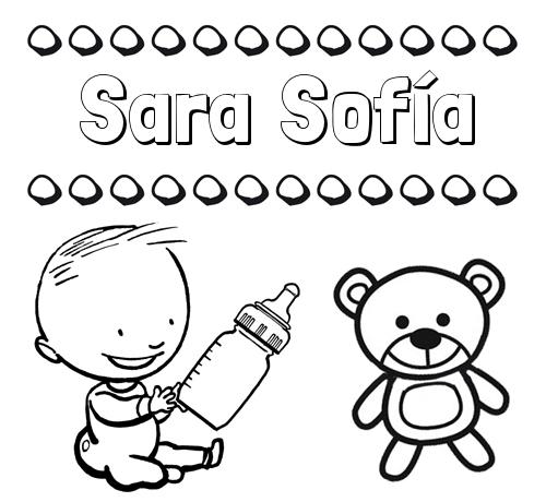 Nombre Sara Sofía, origen y significado