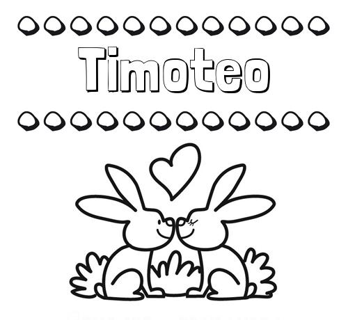 Letra Timoteo Nomb