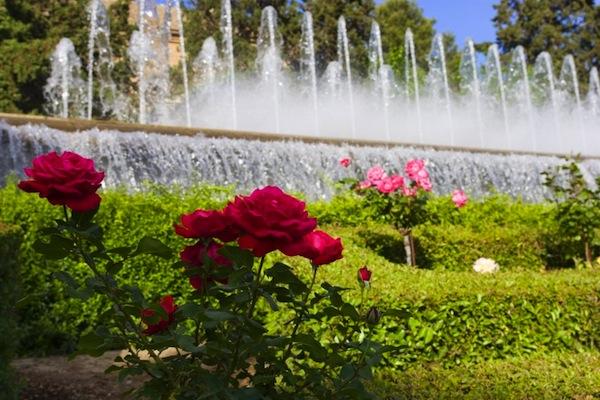 Paseo por los jardines del triunfo granada for Jardines de gomerez granada
