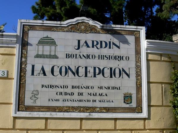 Jard n bot nico hist rico la concepci n m laga for Colegio sagrada familia malaga ciudad jardin